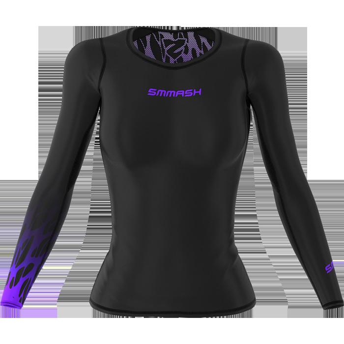 Купить Спортивная одежда и экипировка для девушек, Женский рашгард Smmash, Smmash Fightwear
