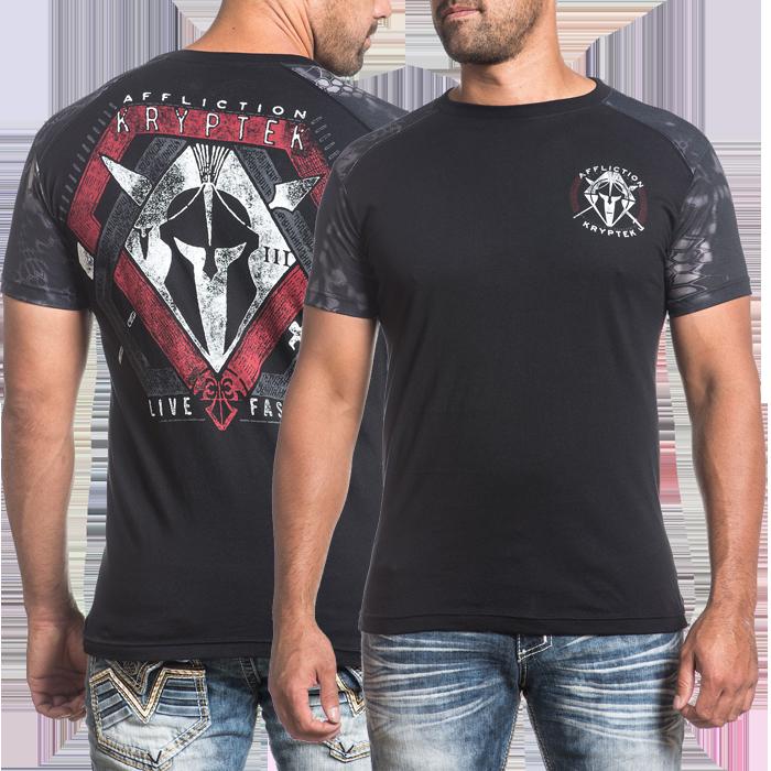 Купить Бойцовские футболки ММА, Футболка Affliction, Affliction