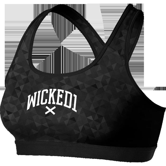 Купить Спортивная одежда и экипировка для девушек, Тренировочный Топик Wicked One, One