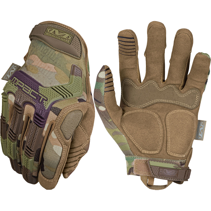 Перчатки Mechanix M-Pact Multicam