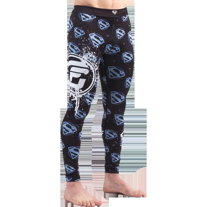 Купить Компрессионные штаны, спортивные для ММА, БЖЖ, Штаны Fusion, Fusion