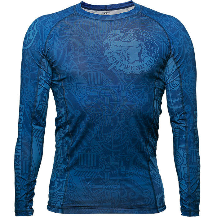 Рашгард Fightwear Blue