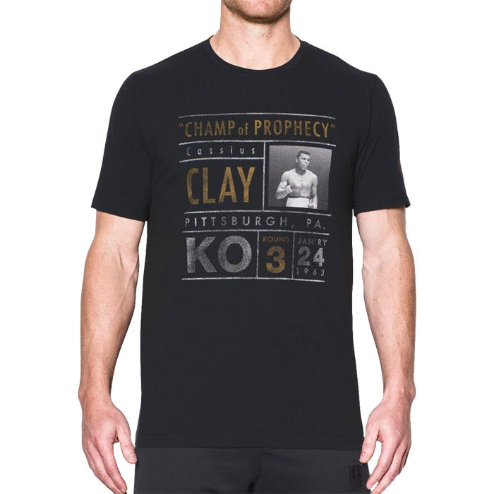 Футболка Under Armour Ali Collectable Fight 17