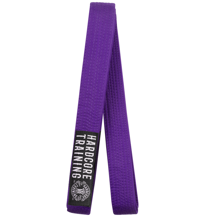 Пояс для кимоно Hardcore Training Premium Purple