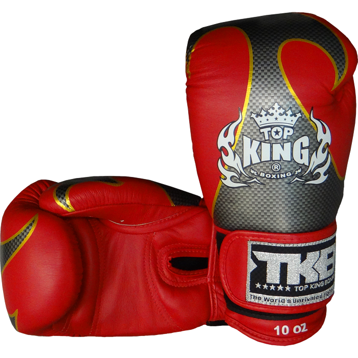 Перчатки Top King Boxing Empower Creativity Red