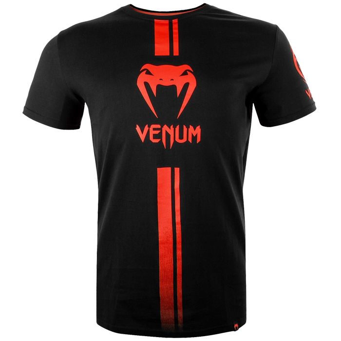 Футболка Venum Logos Black/Red