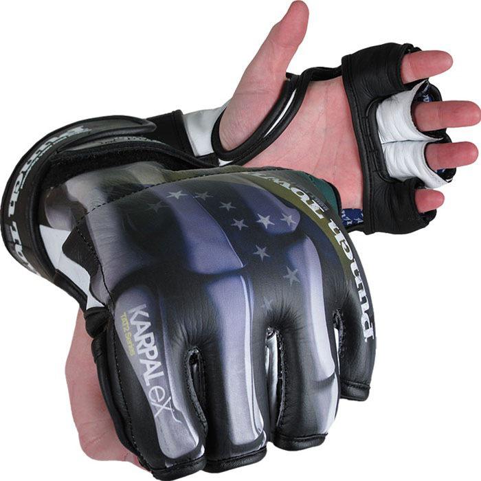 Спортивные перчатки ММА, боксерские, снарядные, для тайского бокса, Перчатки MMA PunchTown, PunchTown  - купить