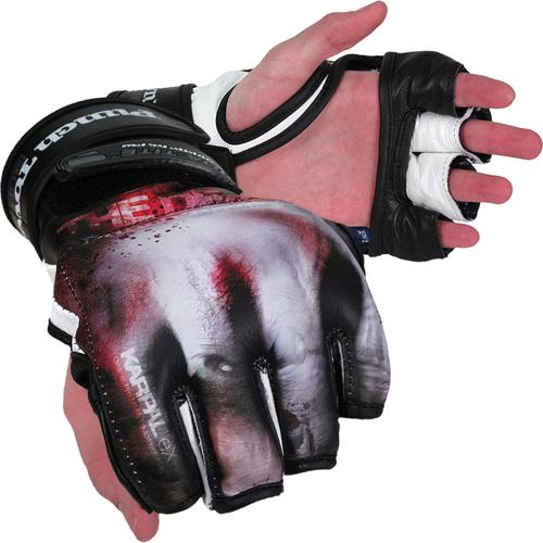 Купить Спортивные перчатки ММА, боксерские, снарядные, для тайского бокса, Перчатки MMA PunchTown, PunchTown