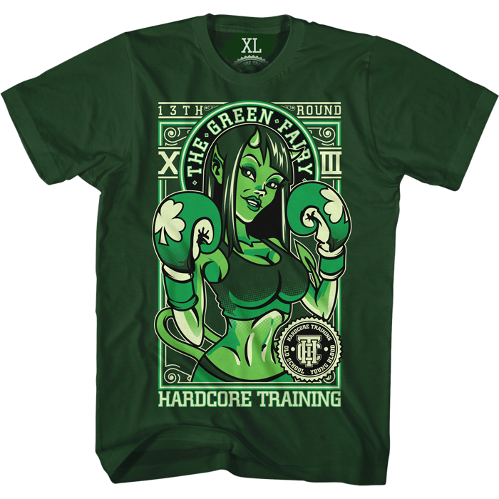 Футболка Hardcore Training The Green Fairy