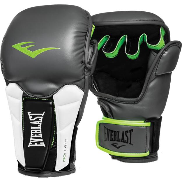 Купить Спортивные перчатки ММА, боксерские, снарядные, для тайского бокса, Перчатки MMA Everlast, Everlast
