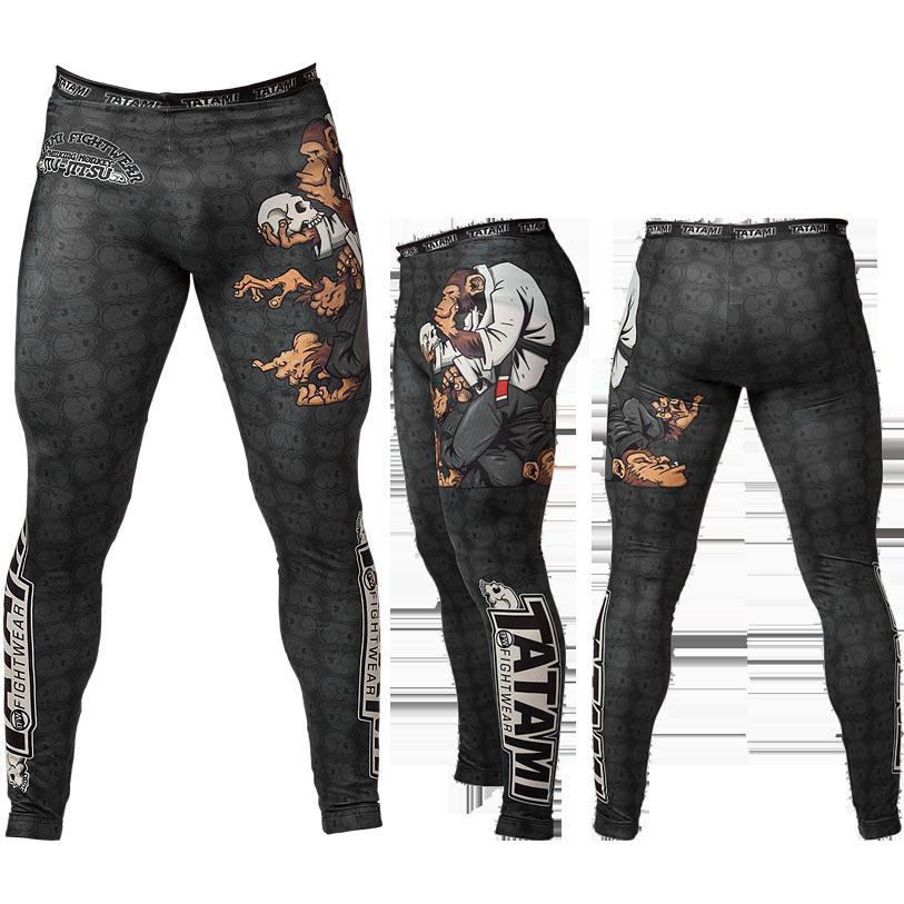 Купить Компрессионные штаны, спортивные для ММА, БЖЖ, Штаны Tatami Fightwear, Fightwear