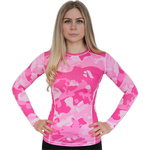 Женский рашгард Aim Military Uniqueness Skin Pink