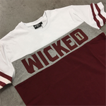 Футболка Wicked One Dope Burgundy And White