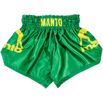 Тайские шорты Manto Muay Thai Dual Green