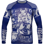 Рашгард Jitsu Gentle & Strong Navy