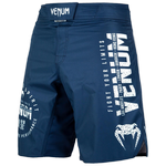 Шорты Venum Signature Navy Blue/White