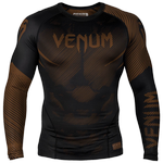 Рашгард Venum NoGi 2.0 Brown