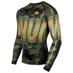 Рашгард Venum Tactical Forest Camo/Black