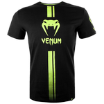 Футболка Venum Logos Black/Neo Yellow