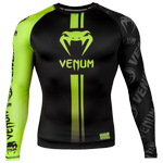 Рашгард Venum Logos Black/Neo Yellow