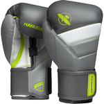 Перчатки Hayabusa T3 Charcoal/Lime