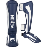 ММА шингарды Venum Elite Navy Blue/White