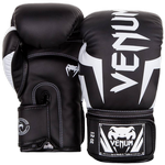 Перчатки Venum Elite Black/White