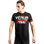 Футболка Venum Muay Thai Classic 20 Black/Red
