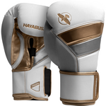 Перчатки Hayabusa T3 White/Gold