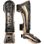 ММА шингарды Venum Elite Dark Camo/Gold
